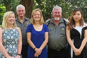 SA Hunters supports four Tukkie students' academic studies on conservation